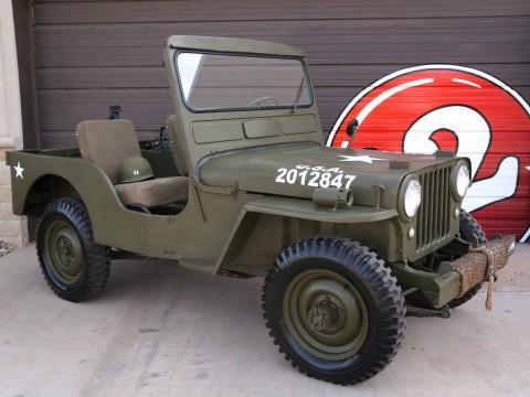1950 Jeep Willys CJ3A zu verkaufen