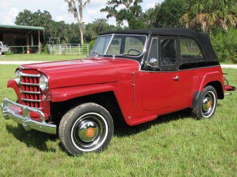 1950 Willys Overland Jeepster zu verkaufen