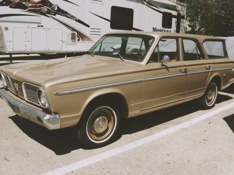 1966 Plymouth Valiant STW zu verkaufen