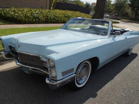 1968 Cadillac de Ville Convertible zu verkaufen