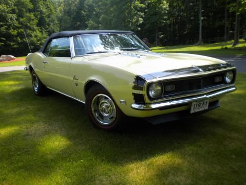 1968 Chevrolet Camaro Convertible zu verkaufen