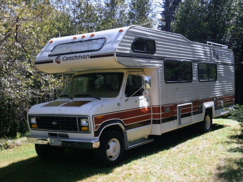 1983 Ford Coachman RV Motorhome zu verkaufen