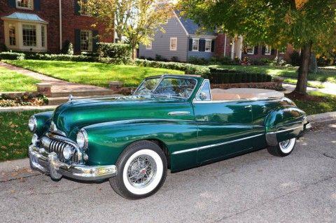 1947 Buick Series 50 Convertible zu verkaufen