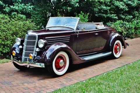 1935 Ford Deluxe Roadster zu verkaufen