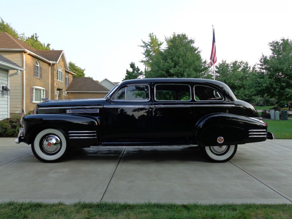 1941 Cadillac Fleetwood 75 Limousine Zu Verkaufen