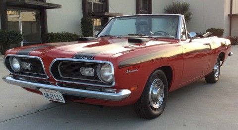 1969 Plymouth Barracuda Convertible zu verkaufen