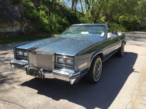 1985 Cadillac Eldorado Biarritz Convertible zu verkaufen