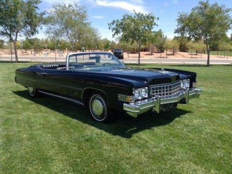 1973 Cadillac Eldorado Convertible zu verkaufen