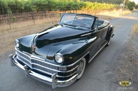 1948 Chrysler Windsor Convertible zu verkaufen