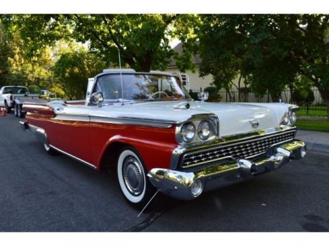 1959 Ford Galaxie Sunliner zu verkaufen