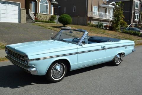 1965 Plymouth Valiant Convertible zu verkaufen
