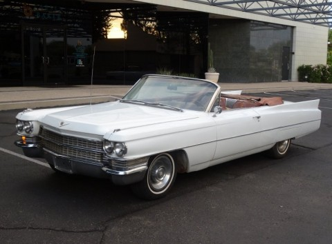 1963 Cadillac DeVille Convertible zu verkaufen