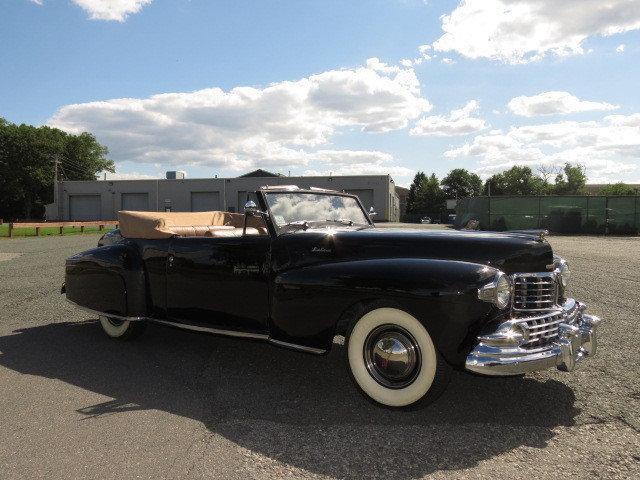 1947 lincoln continental convertible zu verkaufen. Black Bedroom Furniture Sets. Home Design Ideas