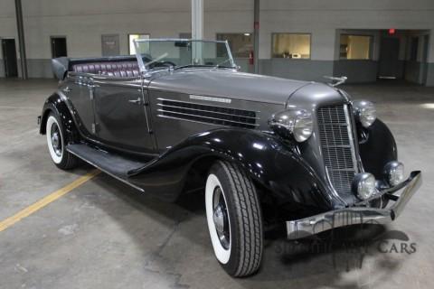 1936 Auburn 852 SC Phaeton zu verkaufen
