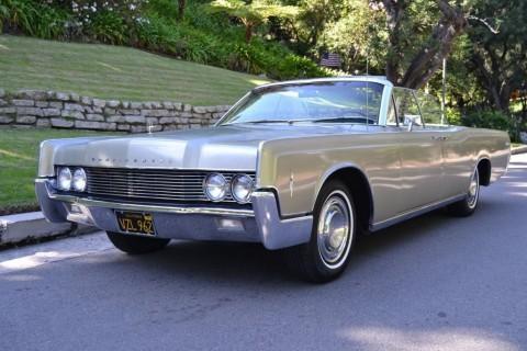 1966 Lincoln Continental Convertible zu verkaufen