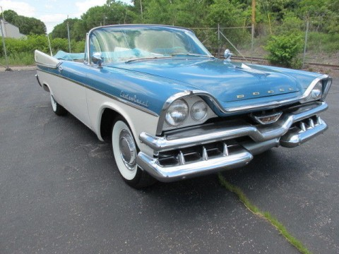 1957 Dodge Custom Royal Convertible zu verkaufen