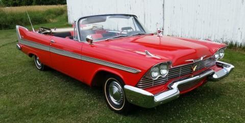 1958 Plymouth Belvedere Convertible zu verkaufen