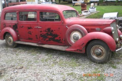 1936 Packard Hearse zu verkaufen