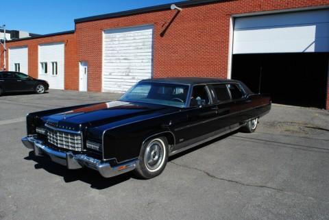 1973 Lincoln Continental Limousine zu verkaufen