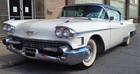 1958 Cadillac Eldorado Seville zu verkaufen