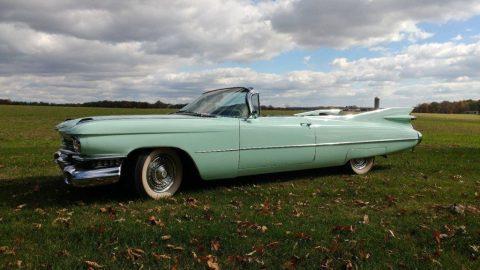 1959 Cadillac Series 62 Convertible zu verkaufen