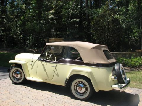 1950 Willys Jeepster zu verkaufen