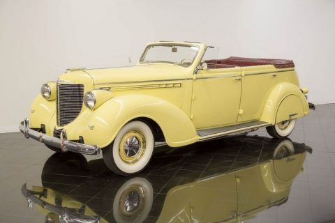 1938 Chrysler Imperial Eight Convertible Sedan zu verkaufen