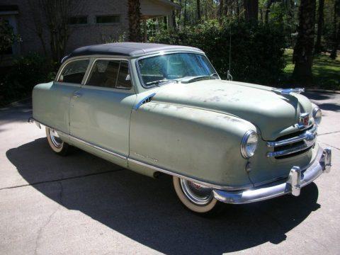 1951 Nash Rambler Airflyte zu verkaufen