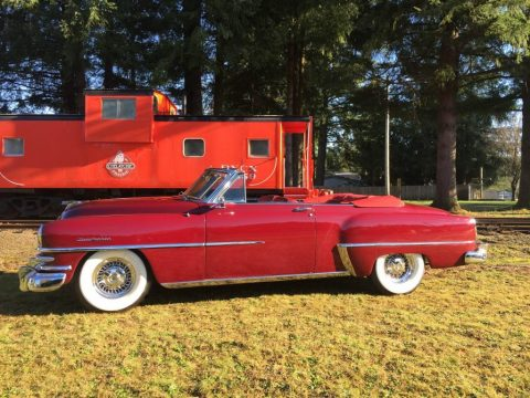 1953 Chrysler New Yorker Deluxe Convertible zu verkaufen