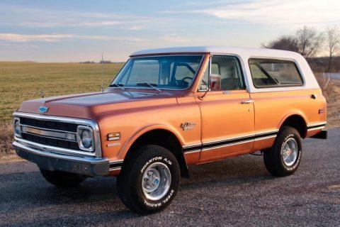 1970 Chevrolet Blazer zu verkaufen