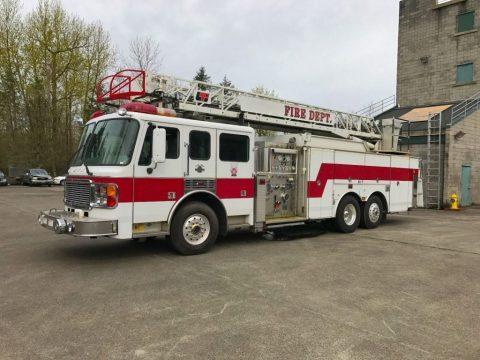 1999 American LaFrance Ladder Fire Truck zu verkaufen