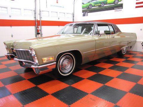 1968 Cadillac Coupe DeVille zu verkaufen