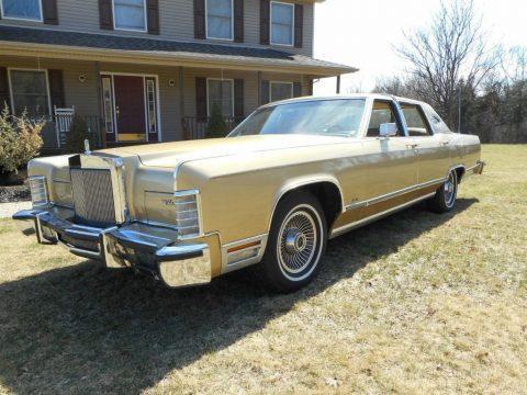 1979 Lincoln Town Car zu verkaufen