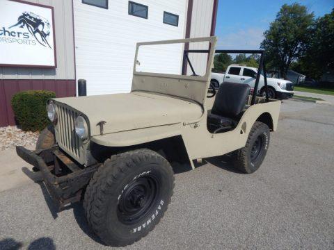 1947 Willys CJ2A zu verkaufen