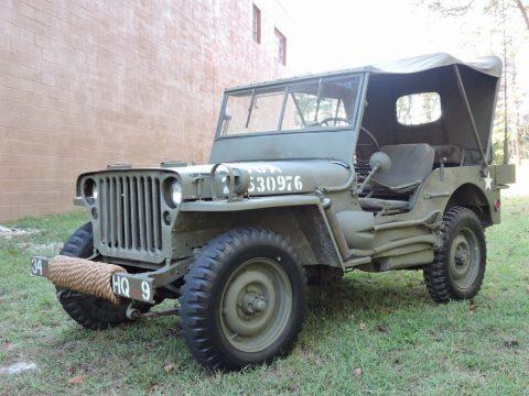 1942 Jeep Willys zu verkaufen