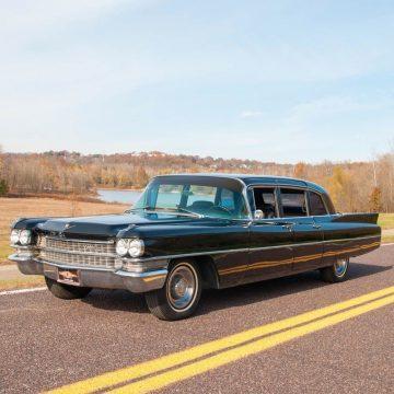 1963 Cadillac Fleetwood 75 Limousine zu verkaufen