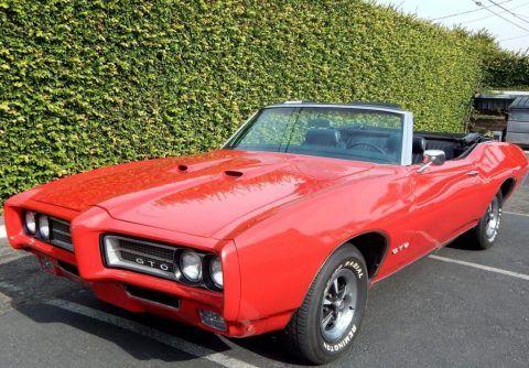 1969 Pontiac GTO Convertible zu verkaufen