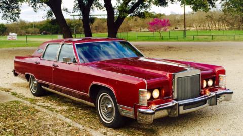 1979 Lincoln Continental Town Car zu verkaufen