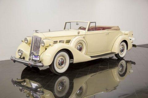 1937 Packard Super Eight Convertible zu verkaufen