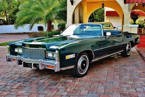1976 Cadillac Eldorado Convertible zu verkaufen