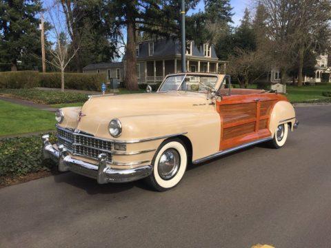 1948 Chrysler Town & Country Convertible zu verkaufen