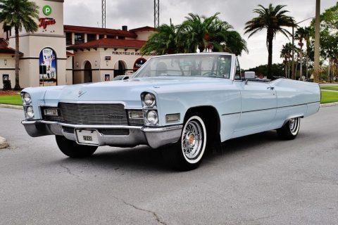 1968 Cadillac DeVille Convertible zu verkaufen