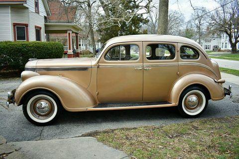 1938 DeSoto S5 Deluxe Sedan zu verkaufen