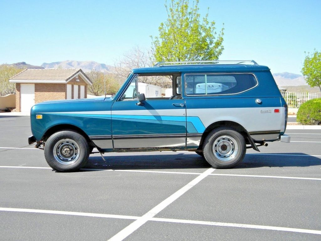 1973 International Harvester Scout II
