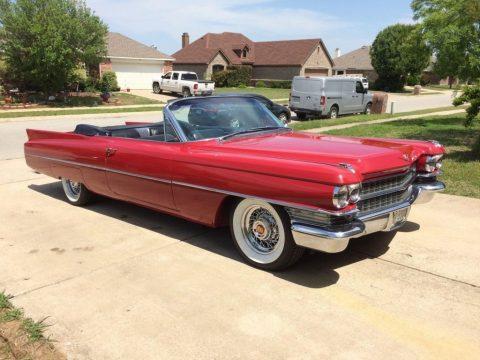 1963 Cadillac Series 62 Convertible zu verkaufen