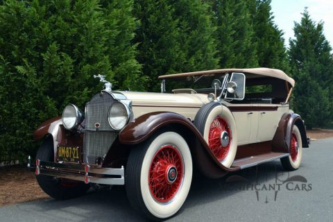 1929 Packard 640 Dual Cowl Phaeton zu verkaufen