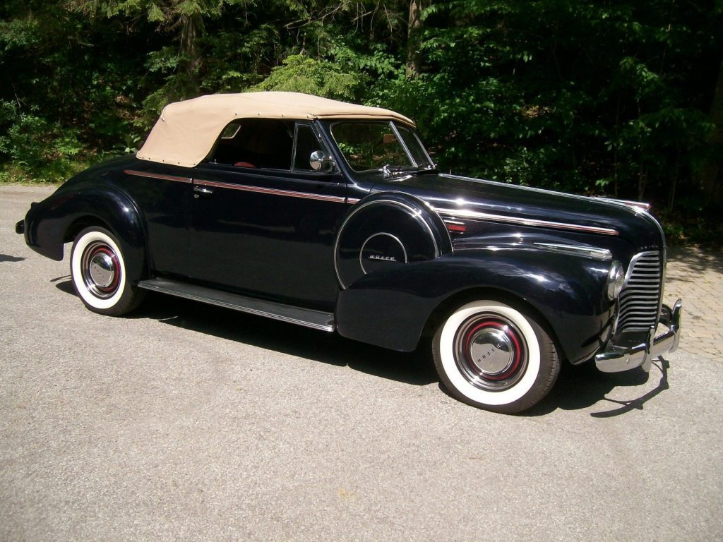 1940 Buick Special Convertible
