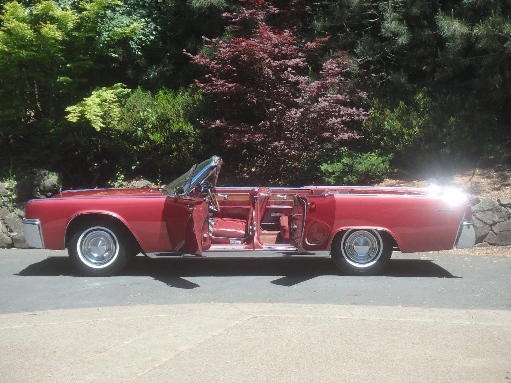 1962 Lincoln Continental Convertible