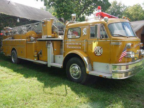 1974 American LaFrance Aerial Truck zu verkaufen