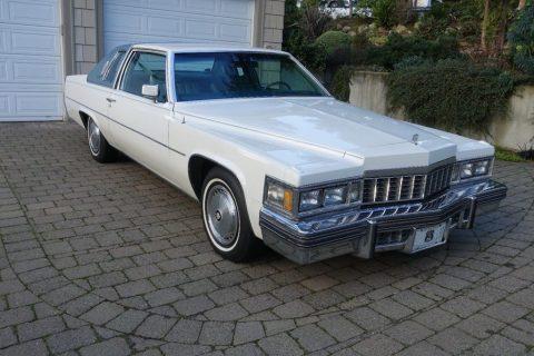 1977 Cadillac Coupe DeVille zu verkaufen